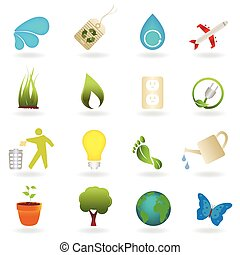 Clean environment symbols - Clean environment related icon...