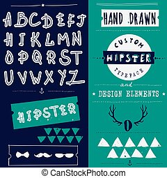 Clean hand drawn font face that is perfect for creating a handmade look on your design and website.
