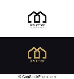 clean house logo for real estate company