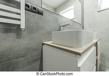 Clean Modern Bathroom Interior Design