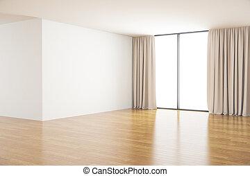 Clean room interior