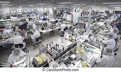 Clean room manufacturing - overview of clean room...