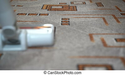 Clean the room with a vacuum cleaner - Do the carpet ...