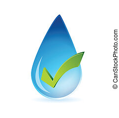 clean water approval illustration