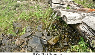 Clean Water Mountain Spring