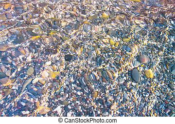 clean water of ocean