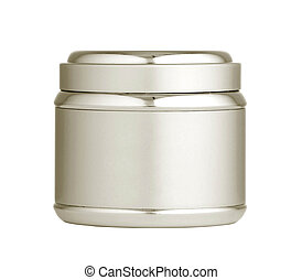 Clean white plastic cream tube for skin