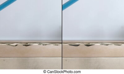 Cleaning dirty floor Animation. - Two high quality Demo for...