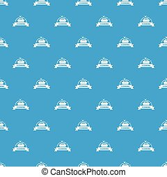 Cleaning house pattern vector seamless blue