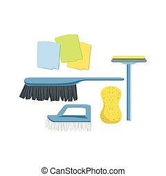 Cleaning Household Equipment Set