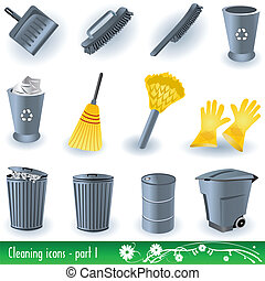 Cleaning Icons 1