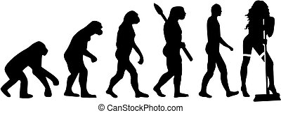 Cleaning lady evolution hot