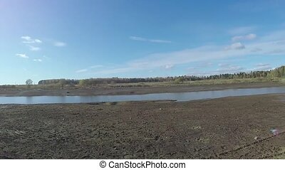 Cleaning of the forest pond - Performing dredging and...