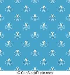 Cleaning pattern vector seamless blue