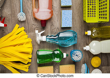 Cleaning products - Set of cleaning products
