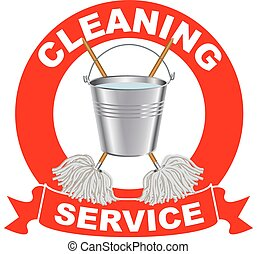 Cleaning services logo