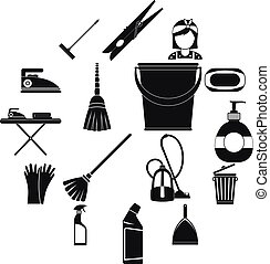 Cleaning simple icons