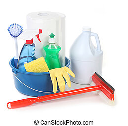 Cleaning Supplies for Around the House Chores