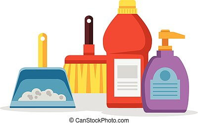 cleaning supplies illustrations and clipart 12 373 cleaning rh canstockphoto com cleaning supplies clipart black and white cleaning supplies clipart png