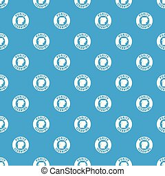 Cleaning toilet pattern vector seamless blue