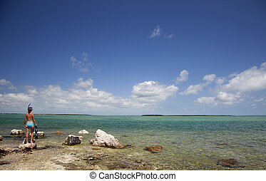 Clear Blue Water Snorkeling