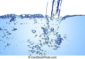 Clear Blue Water Stream