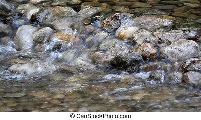 clear fresh water stream