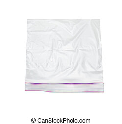 plastic bag with lock - clear plastic bag with lock isolated...