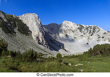 Clear Sky over Sinanitsa peak, Pirin Mountain, Bulgaria