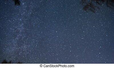 Clear starry sky