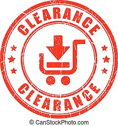 Clearance vector stamp