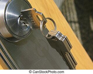 clef porte