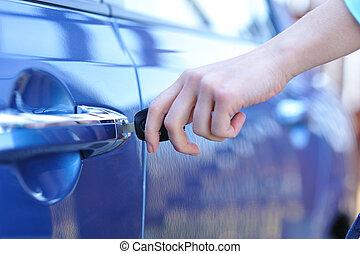 clef voiture