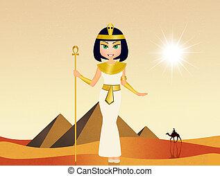 cleopatra, イラスト