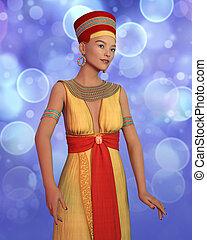 cleopatra, 女, 衣装