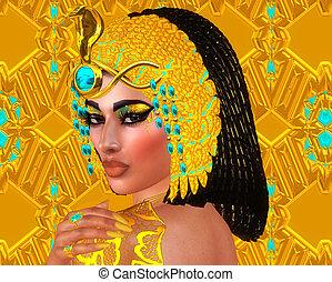 Cleopatra Egyptian Fantasy