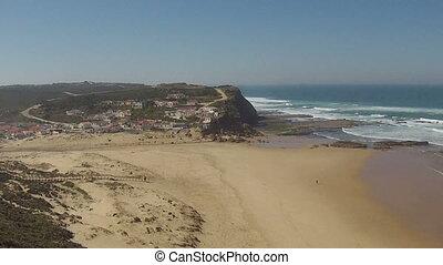 clerigo,  monte, Luftaufnahmen,  portugal