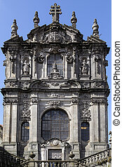 Clerigos Church - Porto - Portugal - Clerigos Church - a...