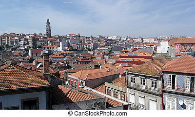 Clerigos Tower, Porto, Portugal