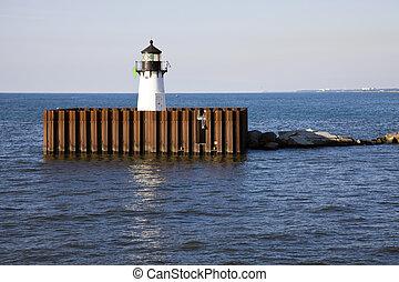 Cleveland Harbor East Pierhead
