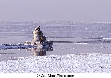 Cleveland Harbor West Pierhead Lighthouse - The Cleveland...