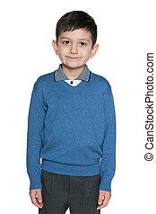 Clever schoolboy