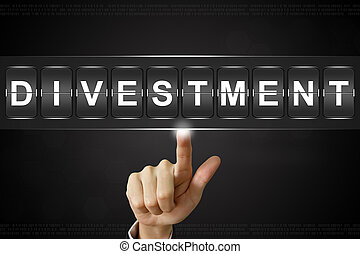 clicando, flipboard, divestment, negócio, mão