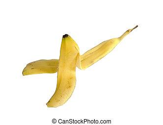 cliché, peler, banane