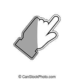 Click hand cursor