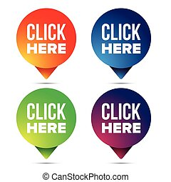Click here button call to action