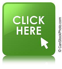 Click here soft green square button