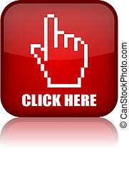 Click here vector button