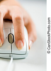 Click on mouse