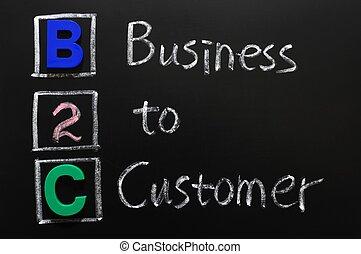 client, acronyme, -, b2c, business